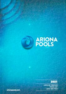 Lista de Precios 2021 Ariona Pools